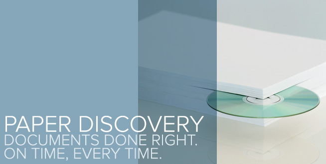 Paper Discovery: Documents done right. On time, every time.
